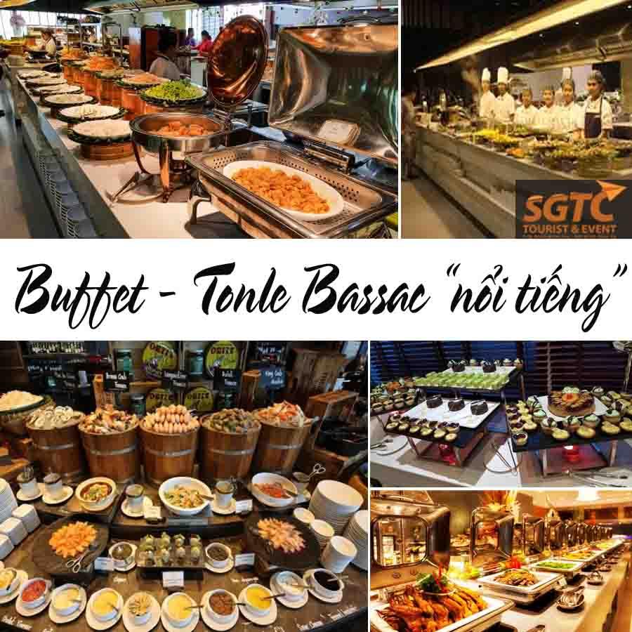Buffet Tonle Bassac 120 Món