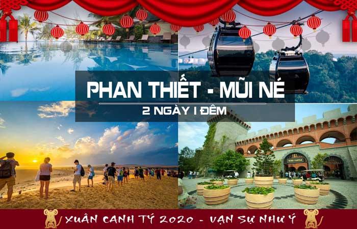Tour Phan Thiết Tết 2020
