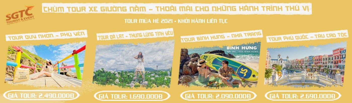 CHÙM TOUR HÈ 2021